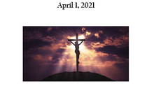 Maundy Thursday 2021