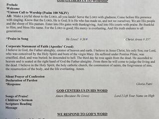 Easter Sunday Bulletin April 12, 2020