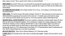 September 27, 2020 Bulletin