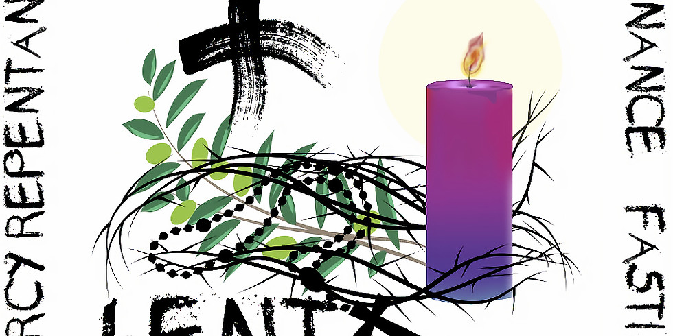 Ash Wednesday Mass at 8:00 a.m.