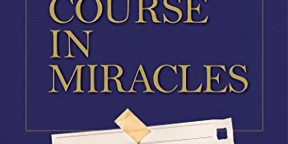 Summer Book Club: A Course in Miracles Made Easy