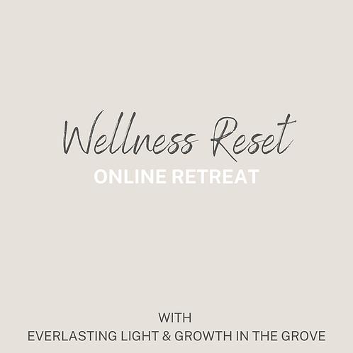 Wellness Reset Virtual Retreat