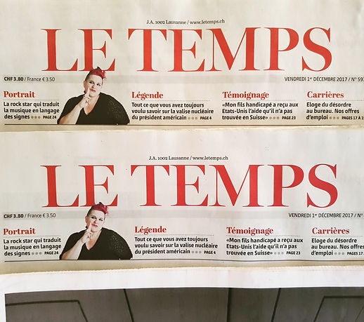 Amber le temps front page.jpg