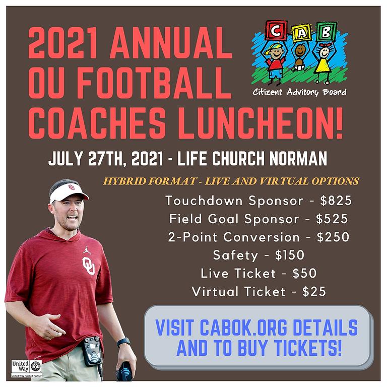 2021 OU Football Coaches Luncheon