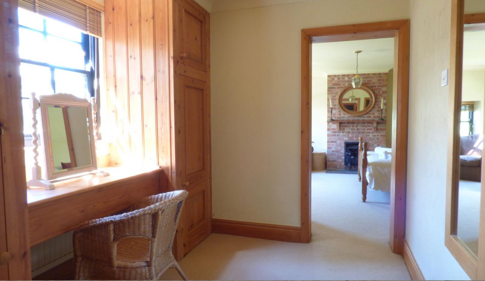 Coach House King Bedroom with En-Suite Bathroom