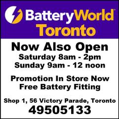 Batteryworld Toronto
