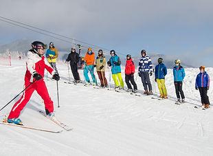 """Skrátený kurz """"C"""" pre inštruktorov lyžovania - úvod do základov výuky detí a začiatočníkov"""