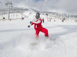 """Kurz """"C"""" pre inštruktorov snowboardingu- úvod do základov výuky detí a začiatočníkov"""