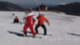 Výuka snowboardingu
