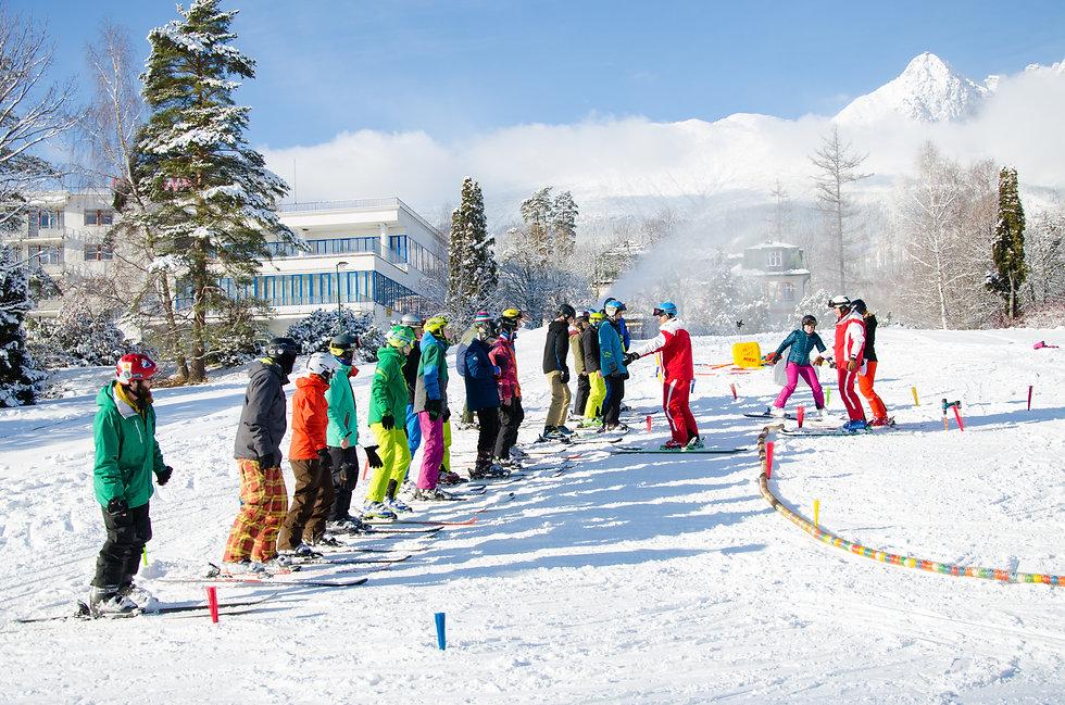 "SAPUL - Duálny kurz inštruktora lyžovania a snowboardingu ""C"" - Detská výuka, Tatranská Lomnica 2018"