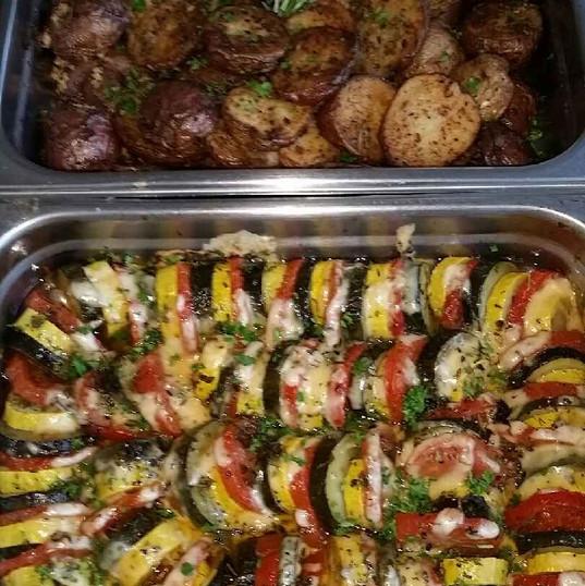 vegetable tian and roasted potatoes.jpg