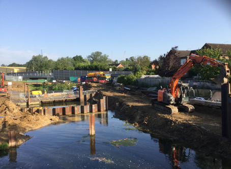 Greenford Ltd continues work at Green Lane Weir, Maidenhead