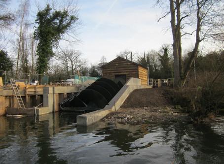 Greenford Ltd installs Hydro Screw