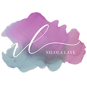 NICOLA LOGO FINAL  watercolour WHITE  .p