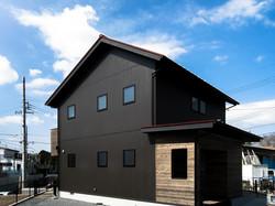 三角屋根の家 2010