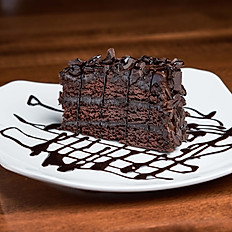 Texas 5 Layer Chocolate Chocolate Cake