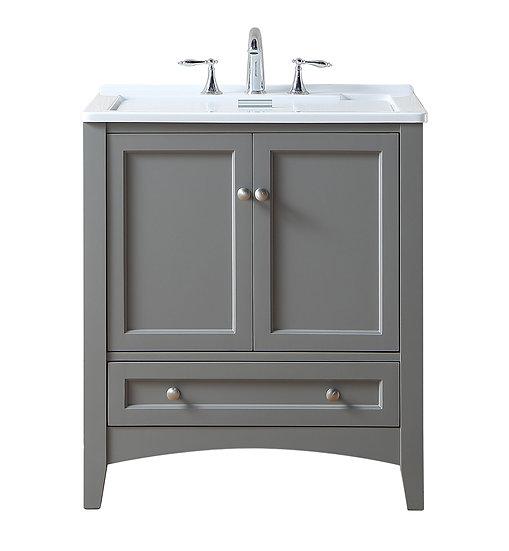 "30"" Grey Laundry Utility Sink"