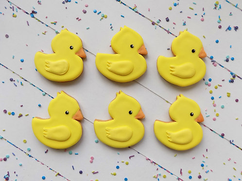 Rubber Duck Biscuits