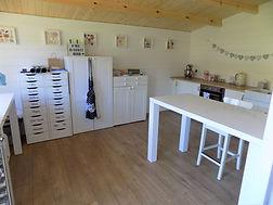 The Biscuit Barn kitchen