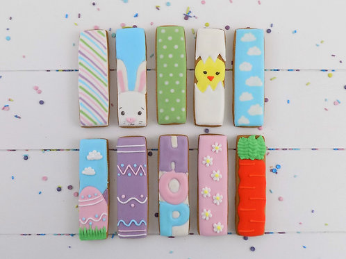10 Easter Themed Biscuit Sticks