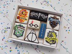 Harry Potter biscuits