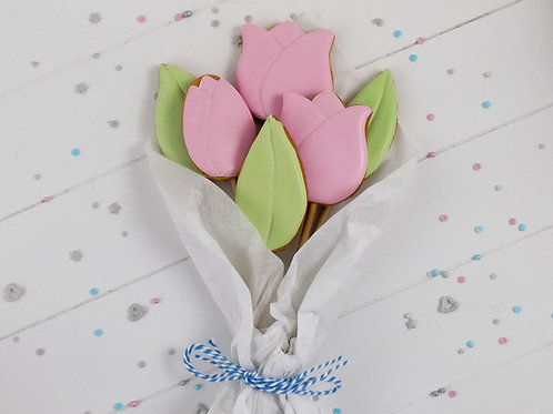 Small Pink Tulip Bouquet