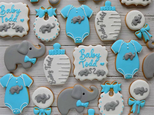 Baby Elephant Individual Biscuits
