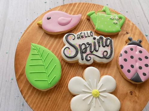 Spring Garden Decorating Class