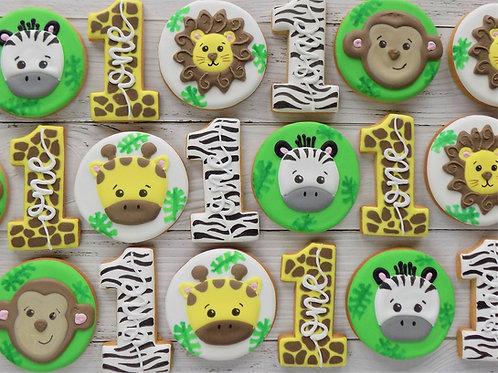 Jungle Safari Individual Biscuits