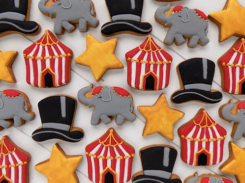 Circus Individual Biscuits