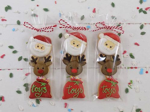 5 Santa Mini Packs