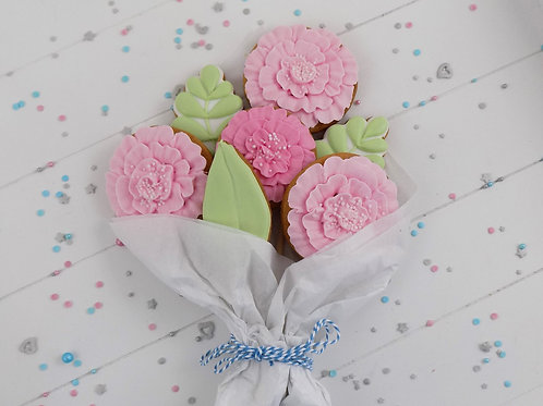 Pink Biscuit Bouquet