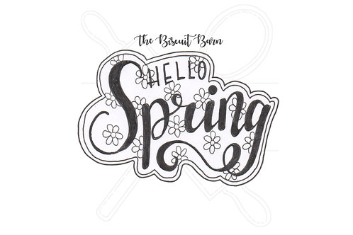 'Hello Spring' cutter file