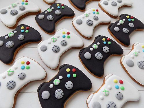 Gaming Controller Individual Biscuits