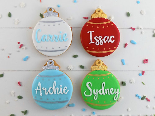 Bauble Place Setting