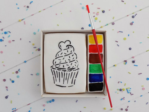 Paint Your Own - Cupcake