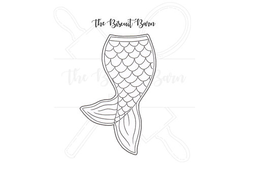 Mermaid Tail cutter file