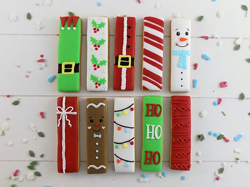 Christmas Biscuit Sticks