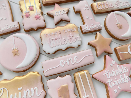 Twinkle Twinkle Birthday Biscuits