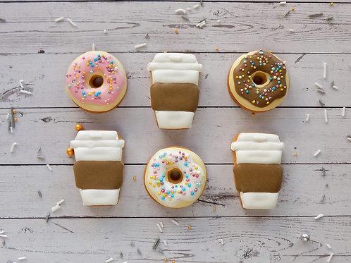 Coffee & Donuts Mini Box
