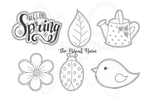 Spring Garden cutter files