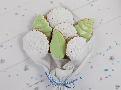 White Biscuit Bouquet