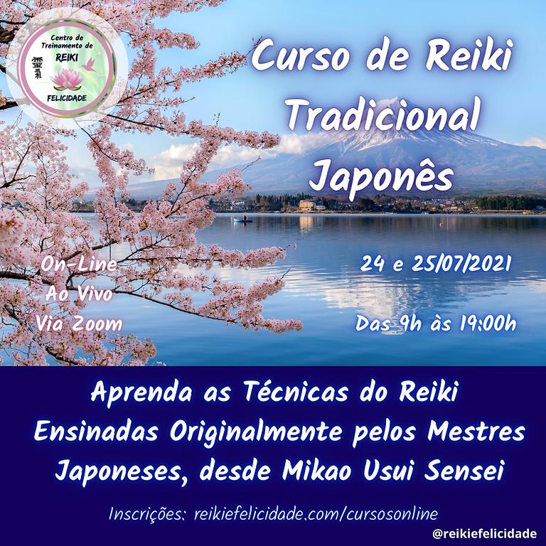 Treinamento - Reiki Tradicional Japonês