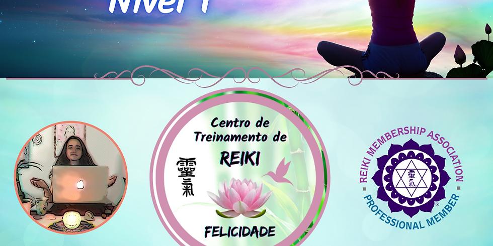 Curso de Reiki Nível I On-Line
