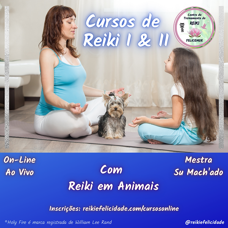 Curso de Reiki Níveis I & II On-Line