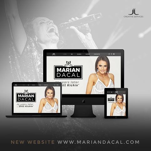 Marian Dacal Web design