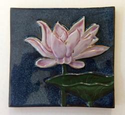 Large Lotus Tile