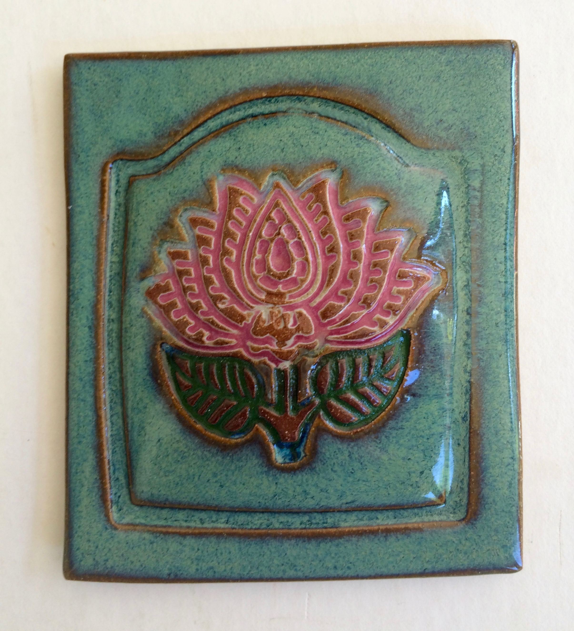Lotus Tile - Green