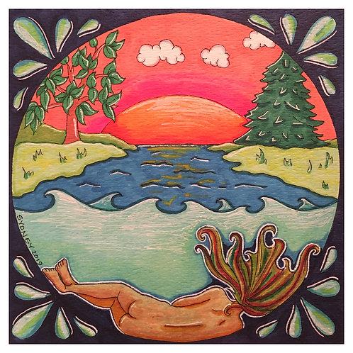 Rivers Print