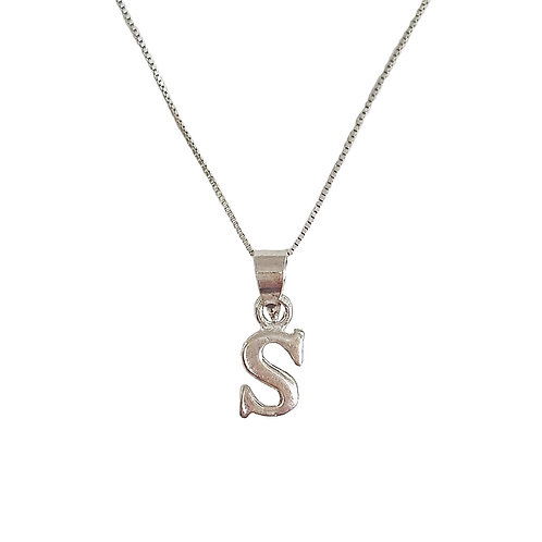Collar Letra S
